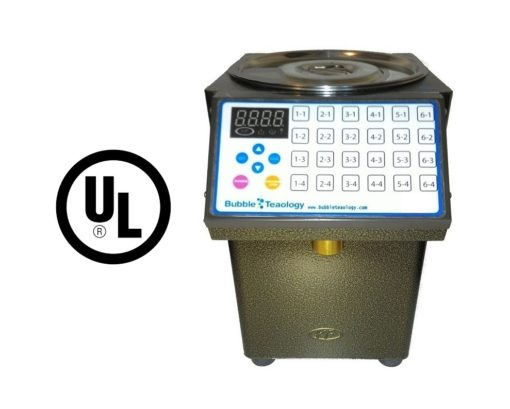 BubbleTeaology Fructose Dispenser UL Certification