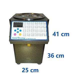 Bubble Tea Sugar Dispenser Dimensions
