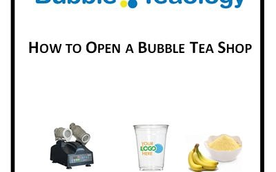 How to Open a Bubble Tea Shop