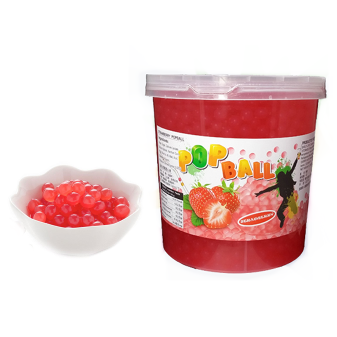 $65.00 - Strawberry Popping Boba Case | BubbleTeaology