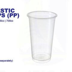 Clear Bubble Tea Cups