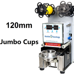 120mm Jumbo Fat Cup Sealer Machine