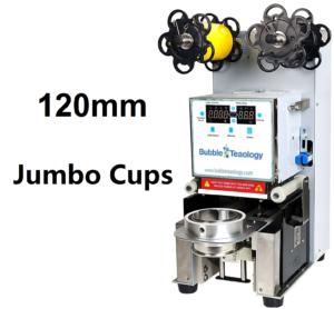 120mm Jumbo Fat Cup Sealer Machine
