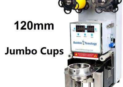 120mm Jumbo Cup Sealer Machine