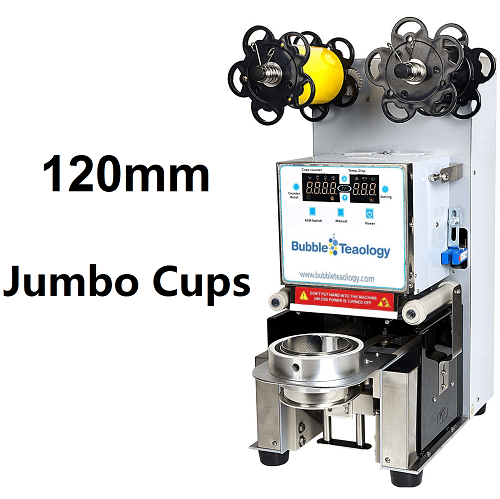 Buy 120mm Jumbo Cup Sealer Machine