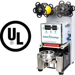 UL bubble tea sealer machine