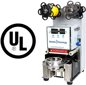 95mm lid sealer machine