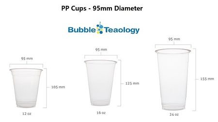95mm PP Cups