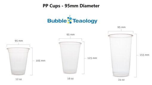 95mm PP Cups