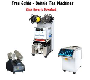 bubble tea machines