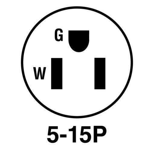 NEMA 5-15 Plug