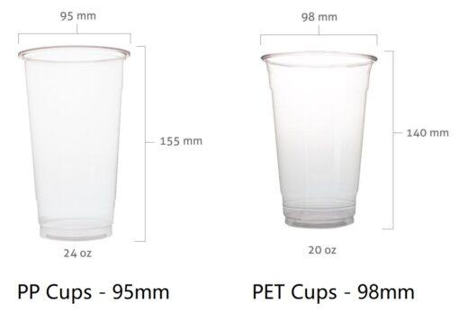 PP vs PET Cups