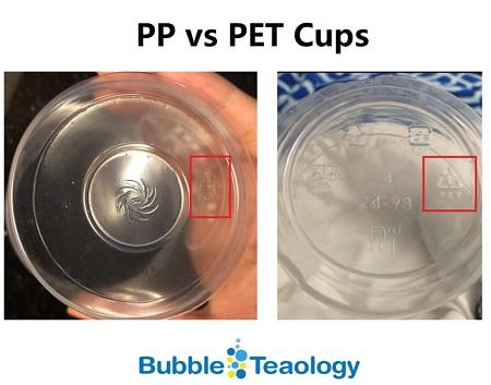 PP or PET Cups