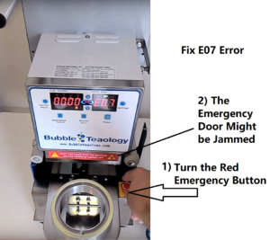 Fix E07 Sealer Machine Error