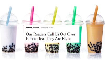 The New York Times Just Found Out About Bubble Tea!