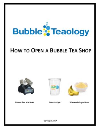 How to Open a Bubble Tea Shop eBook Cover