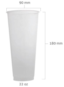 90mm 22oz PP Cup