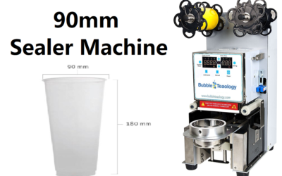 90mm Cup Sealer Machine
