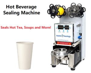 Hot Drink Tea Soup Sealing Machine