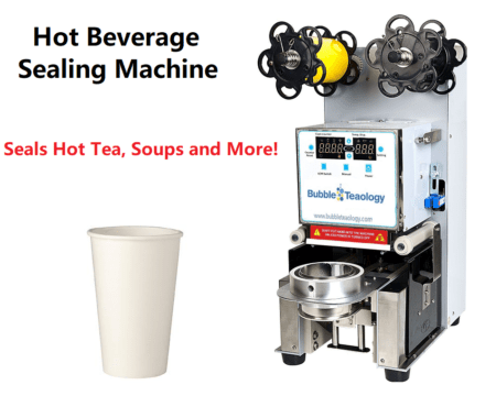 Hot Drink Tea Soup Sealing Machine
