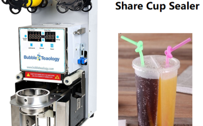 Bubble Tea Plastic Share Cups