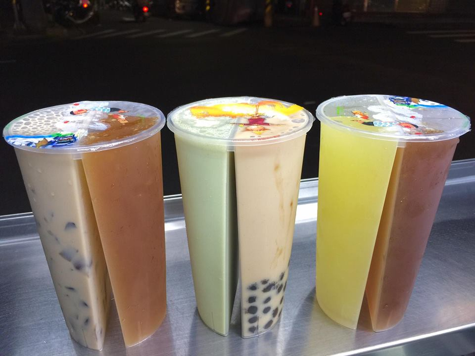 bubble tea share cups
