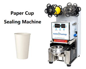 Paper Cup Sealer Machine