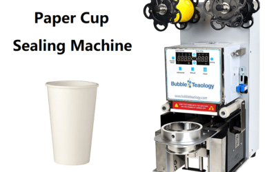 Paper Cup Sealer Machine