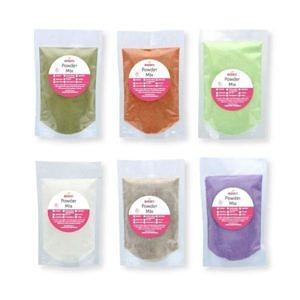 bubble tea samples powders