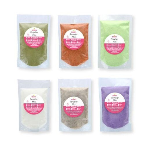 bubble tea samples powders