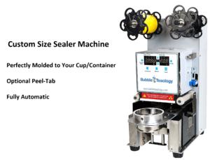 Custom Size Sealer Machine Peel Tab