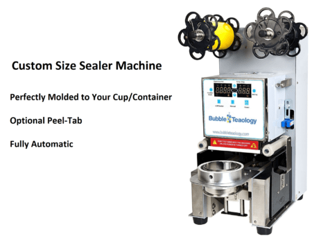 Custom Size Sealer Machine Peel Tab