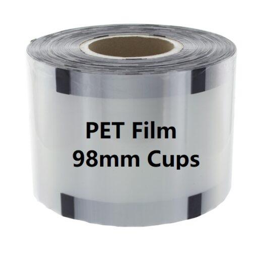 PET Film 98mm Cups