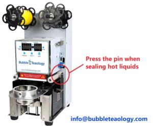 side pin seal hot liquids