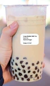 Bubble Tea Cup Sticker Printer
