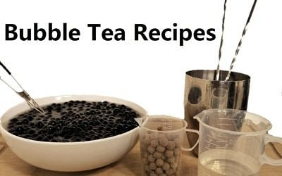 Bubble Tea Recipes