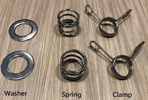 Washers, Springs and Clamps