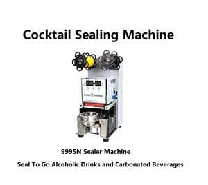 Cocktail To Go Alcohol Sealer Machine