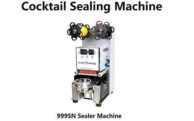 To Go Cocktail Sealing Machine