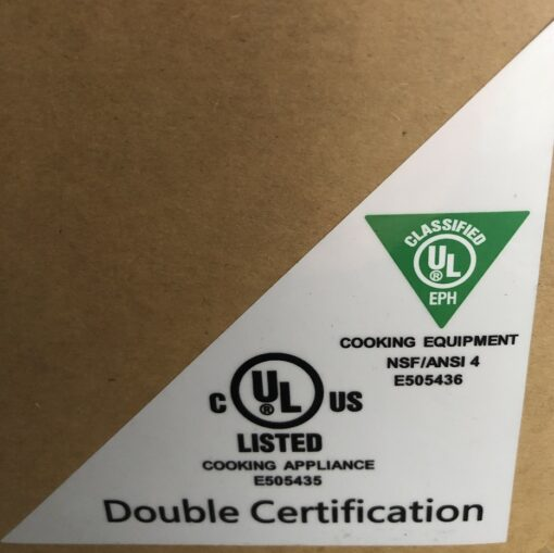 UL Sticker Double Certification Box
