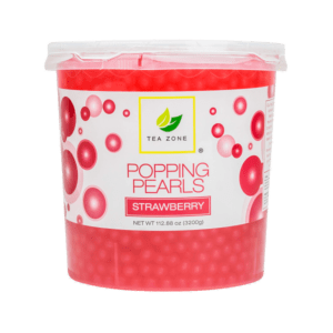 Tea Zone Popping Pearls Strawberry
